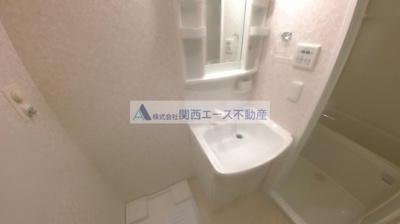 【洗面所】CASSIA高井田NorthCourt