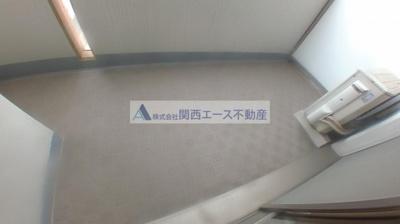 【バルコニー】CASSIA高井田NorthCourt