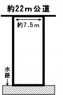 【区画図】52192 岐阜市鹿島町土地