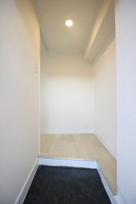 【玄関】清潔感のある玄関です