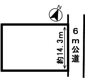 【区画図】18450 岐阜市粟野西土地