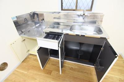 【キッチン】ムーンコーポB