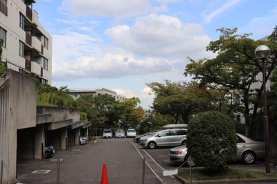 【駐車場】藤和ライブタウン甲陽園山王町B2棟