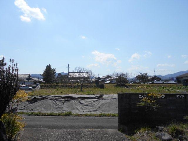【展望】亀岡 大井町並河一丁目 建築条件無し 売土地