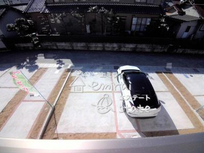 並列駐車出来ます!