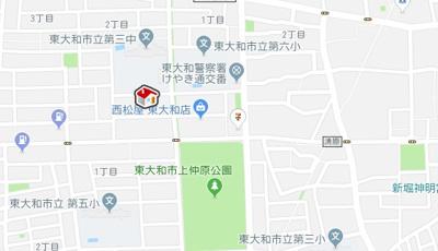 【地図】レオパレスJUNE (38357-102)