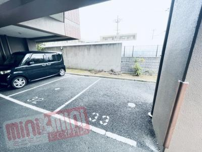 【駐車場】エーデル阪部