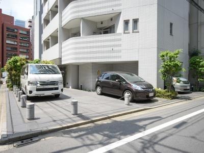 【駐車場】クレジデンス虎ノ門