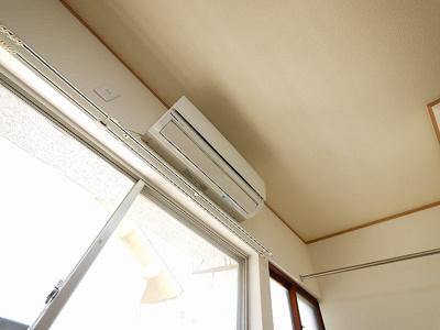 エアコン付きで人気