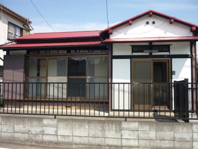 【外観】西川島町貸家
