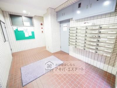 【ロビー】パレ・ドール千駄木