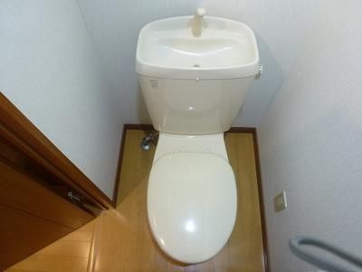 普通のトイレです