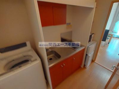 【キッチン】レオパレス中川MTM