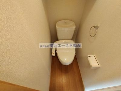 【トイレ】レオパレス中川MTM