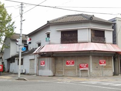 【外観】天理駅前住居付店舗
