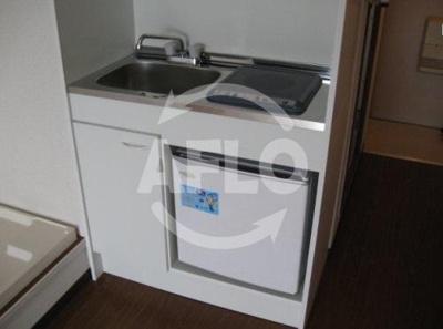 カイザ71 冷蔵庫あり
