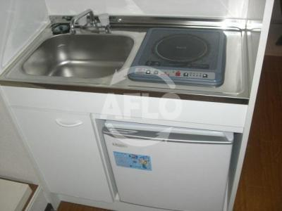 カイザ71 冷蔵庫付きキッチン