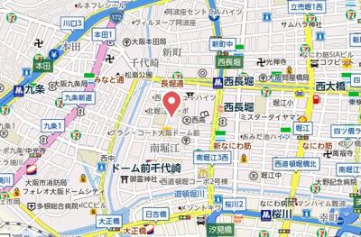 【地図】ヒルブリッジヒルNO1