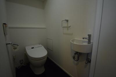 手洗い場がついたトイレです