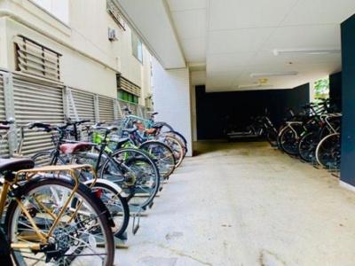 自転車置き場完備しております