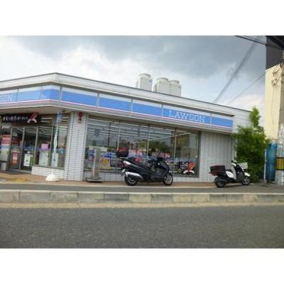 ローソン箕面稲店:528m