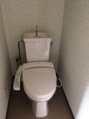 【トイレ】ハーモニーマンション