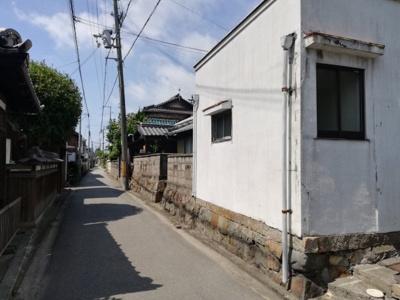 【前面道路含む現地写真】姫路市大津区天満/売土地