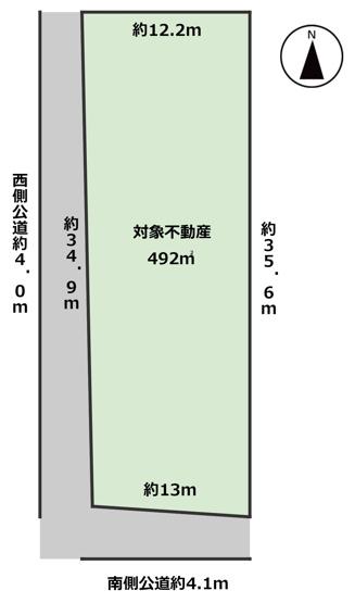【土地図】海津市平田町今尾土地
