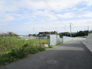 四街道市もねの里 土地 物井駅  前面道路も広々6m!駐車も安心です!