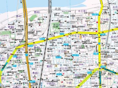 【地図】サンズ本庄公園