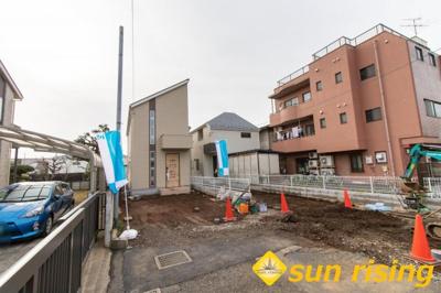 【外観】立川市栄町5丁目 新築一戸建 全2棟 2号棟