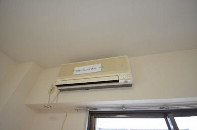 別号室の写真です。エアコン