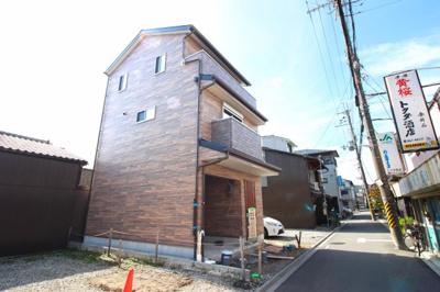 【外観】北区紫野中柏野町 2区画 新築戸建