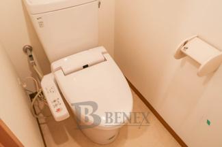 グランハイツ東新宿のトイレです