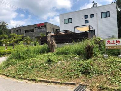 【外観】恩納村希望ヶ丘売土地 40坪 角地