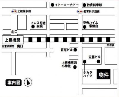 ホワイト東新町の地図☆