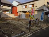 伏見区深草寺内町 建築条件無し売土地の画像