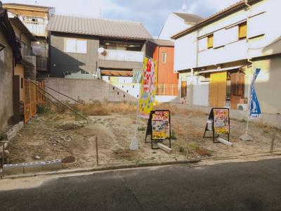 【外観】伏見区深草寺内町 建築条件無し売土地