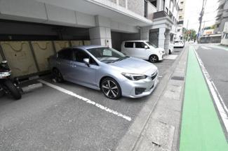 サムティ大濠公園の駐車場です