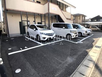 【駐車場】コーポ桜井B