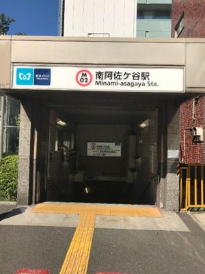 阿佐ヶ谷駅です