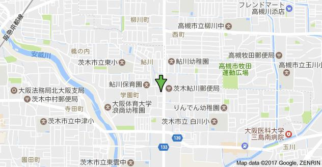 【地図】ツイン88 S棟