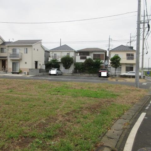 【外観】坂戸市片柳 売地