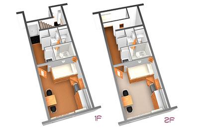 【寝室】ポラール五番館