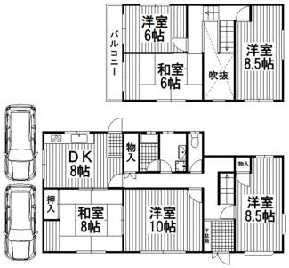 【外観】川西市水明台4丁目1の40 中古一戸建て