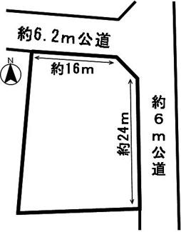 【区画図】53825 本巣市文殊土地