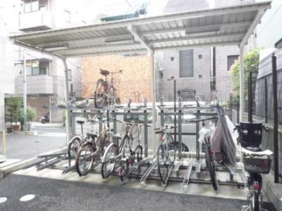 アパートメンツタワー六本木 駐輪場