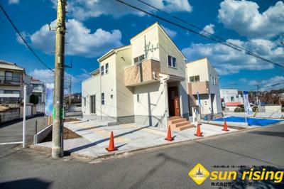 【外観】武蔵村山市神明2丁目 新築一戸建 全2棟 1号棟
