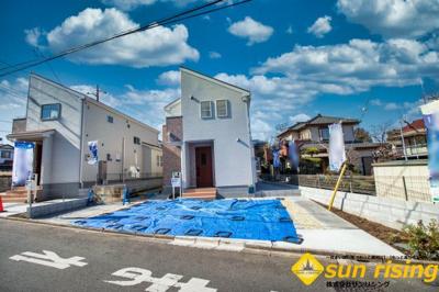【外観】武蔵村山市神明2丁目 新築一戸建 全2棟 2号棟