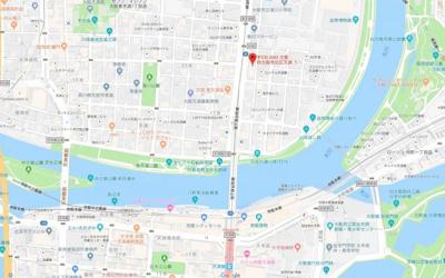 【地図】ACTY天満橋